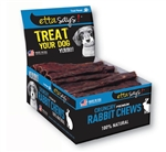 """Etta Says! PREMIUM Crunchy - 4.5"""" RABBIT - sold as display box only - Note individual units not UPC labeled"""