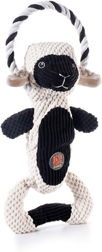 Charming Pet Products Scrunch Bunch Lamb Dog Toy 1ea
